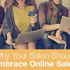 Why Your Salon Should Embrace Online Sales
