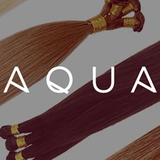 Introducing Aqua Hand Tied Weft Hair Extensions!